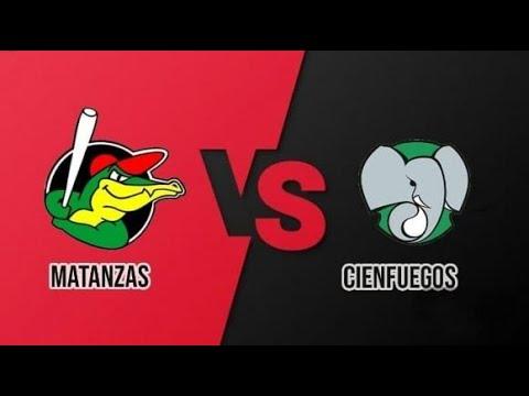 JUEGO 2 Matanzas vs Cienfuegos